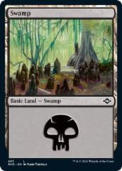 Swamp (485) - Foil Etched