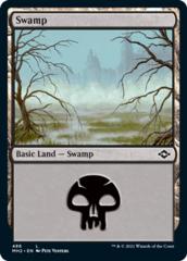Swamp (486) - Foil Etched