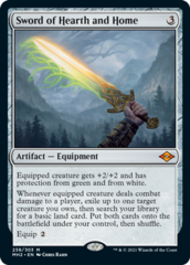 Sword of Hearth and Home - Foil