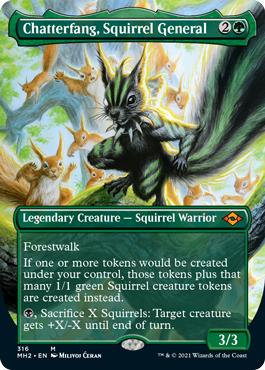 Chatterfang, Squirrel General (Borderless)