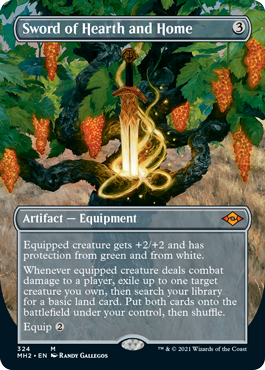 Sword of Hearth and Home - Foil - Borderless