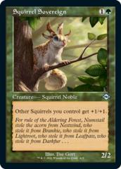 Squirrel Sovereign - Retro Frame