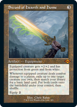 Sword of Hearth and Home (Retro Frame)