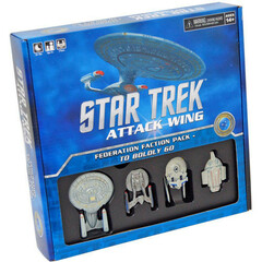Star Trek Attack Wing - Federation Faction Pack - To Boldly Go