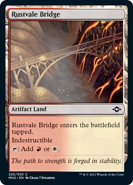 Rustvale Bridge - Foil