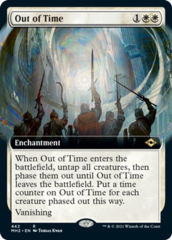 Out of Time (Extended Art)