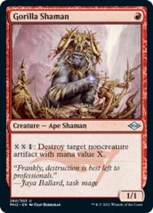 Gorilla Shaman - Foil