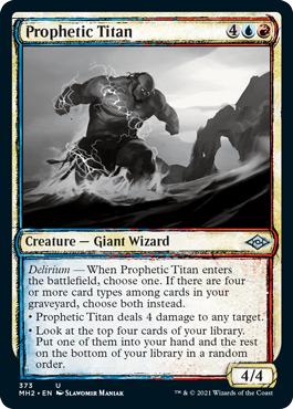Prophetic Titan (Showcase)
