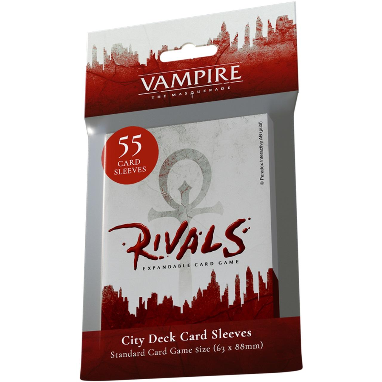 Vampire: The Masquerade - Rivals City Deck Sleeves