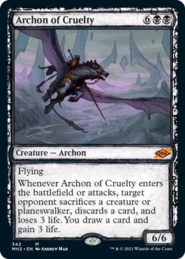 Archon of Cruelty - Foil - Showcase