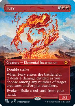 Fury (Borderless)