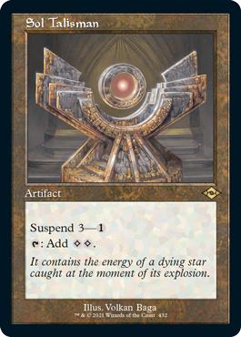 Sol Talisman - Retro Frame