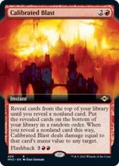 Calibrated Blast - Foil - Extended Art