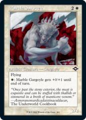 Marble Gargoyle - Foil - Retro Frame