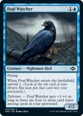 Foul Watcher - Foil