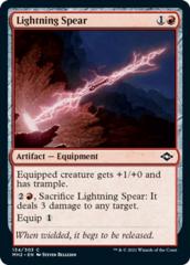 Lightning Spear - Foil