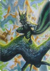 Chatterfang, Squirrel General A Art Card
