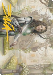 Arcus Acolyte Art Card - Gold-Stamped Signature