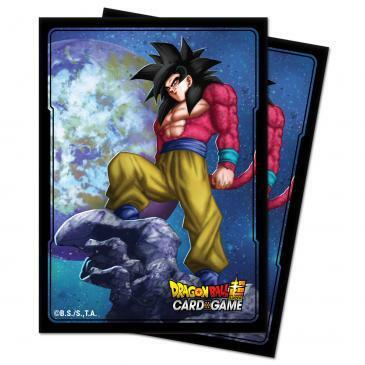 Ultra Pro - Dragon Ball Super SS4 Son Goku Standard Size Deck Protector 100ct
