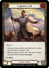 Captain's Call (Yellow) - Rainbow Foil - Unlimited Edition