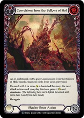 Convulsions from the Bellows of Hell (Red) - Unlimited Edition