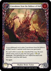 Convulsions from the Bellows of Hell (Yellow) - Rainbow Foil - Unlimited Edition