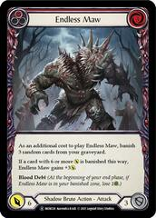 Endless Maw (Red) - Rainbow Foil - Unlimited Edition