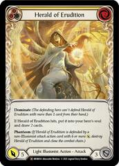 Herald of Erudition - Rainbow Foil - Unlimited Edition