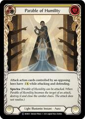 Parable of Humility - Rainbow Foil - Unlimited Edition