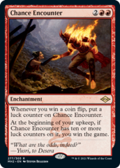 Chance Encounter - Foil Etched