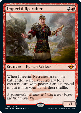 Imperial Recruiter - Foil Etched