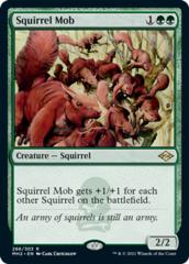 Squirrel Mob - Foil Etched