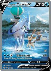 Ice Rider Calyrex V - 164/198 - Full Art Ultra Rare