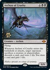 Archon of Cruelty - Foil - Prerelease Promo