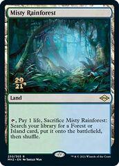 Misty Rainforest - Foil - Prerelease Promo