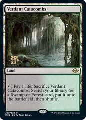 Verdant Catacombs - Foil - Prerelease Promo
