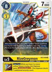 RizeGreymon - BT2-038 - R (Official Tournament Pack Vol.2)