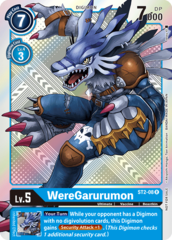 WereGarurumon - ST2-08 - R (Official Tournament Pack Vol.2)
