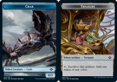 Crab Token // Treasure Token (021) - Foil