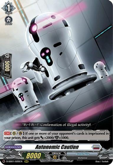 Autonomic Caution - D-SS01/026EN - RRR