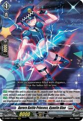 Aurora Battle Princess, Kyanite Blue - D-SS01/027EN - RRR