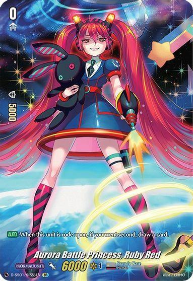Aurora Battle Princess, Ruby Red - D-SS01/SP28EN - SP