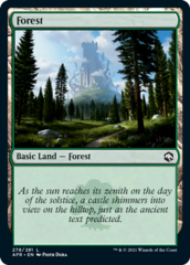 Forest (278) - Foil (AFR)