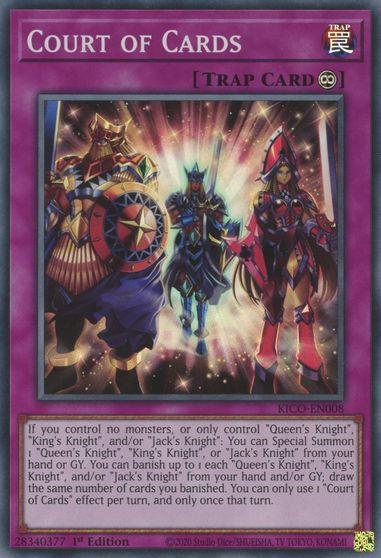 Court of Cards - KICO-EN008 - Super Rare - 1st Edition