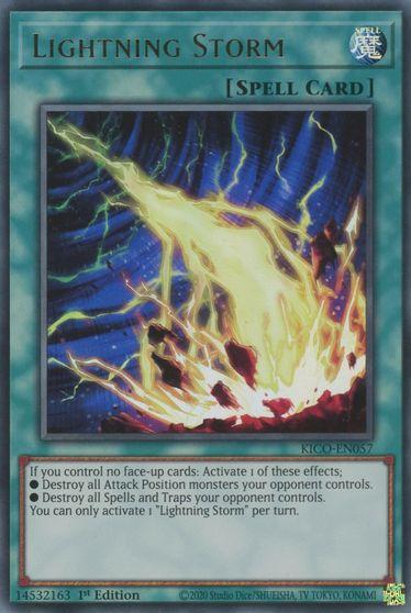 Lightning Storm - KICO-EN057 - Ultra Rare - 1st Edition
