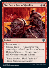 You See a Pair of Goblins - Foil