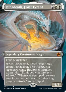 Icingdeath, Frost Tyrant - Borderless