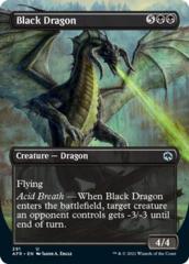 Black Dragon - Foil - Borderless