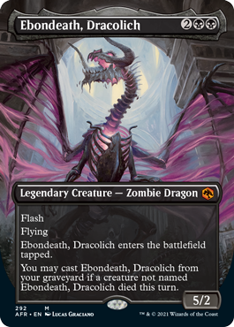 Ebondeath, Dracolich - Borderless