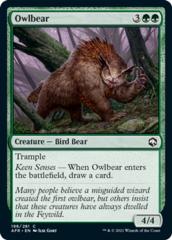 Owlbear - Foil